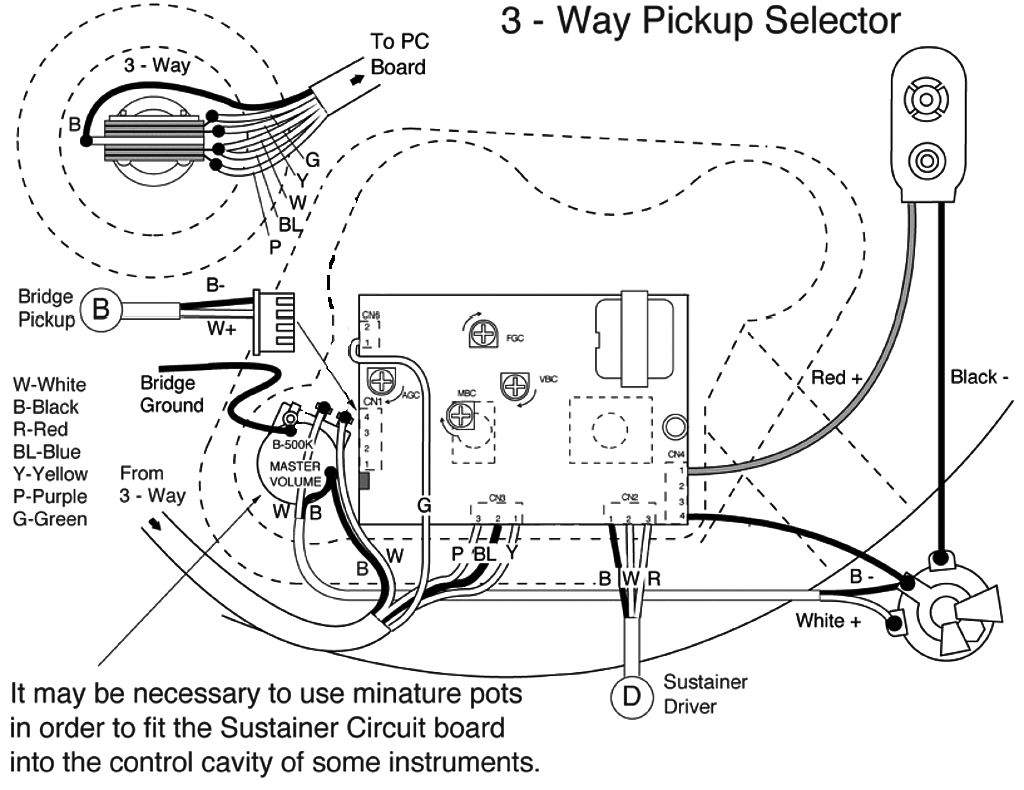 Fernandes Sustainer Wiring Diagram Les Paul Pickup Diagrams For Guitar My Forum Schematics